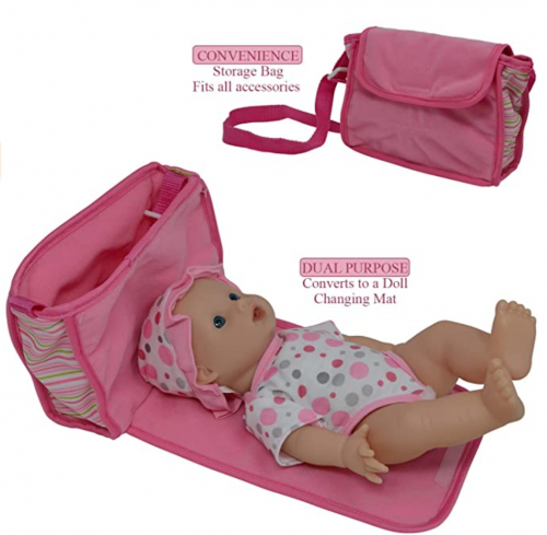 Drink and Wet Potty Training Baby Doll accessories 2