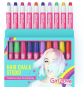 GirlZone Hair Chalk Set For Girls