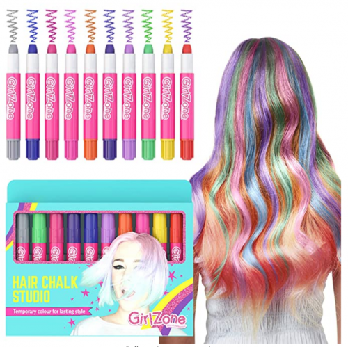 GirlZone Hair Chalk Set For Girls 2