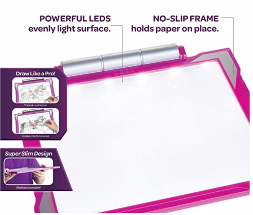 Crayola Light Up Tracing Pad Pink 2