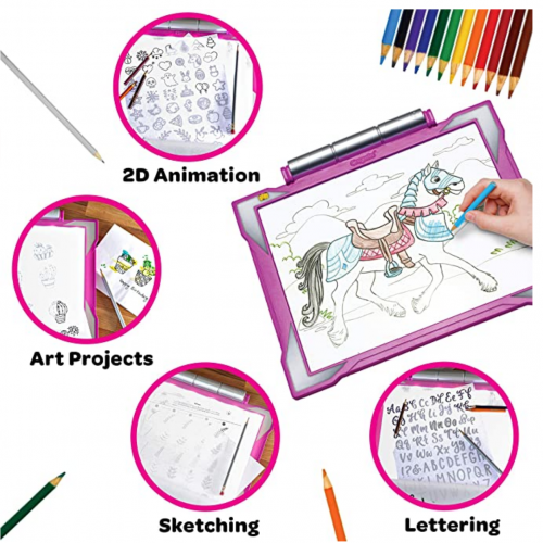 Crayola Light Up Tracing Pad Pink specs