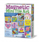 4M 4563 Magnetic Mini Tile Art – DIY Paint Arts & Crafts Magnet Kit For Kids