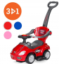 Best Choice Products Push and Pedal Car