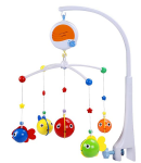 Fisca Baby Musical Crib Mobile
