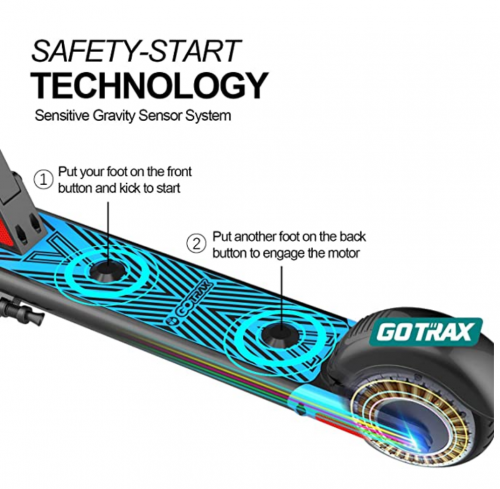 Gotrax GKS Electric Scooter detail