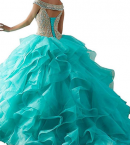 bessdress off the shoulder formal prom dress display