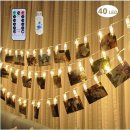 adecorty 40 LED photo clip lights gift ideas for teenage girls
