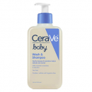 cerave sulfate free 8 ounce baby wash for eczema display