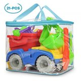 KKONES Toy Truck with Bag