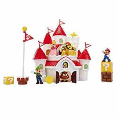 Super Mario Deluxe Mushroom Kingdom Playset