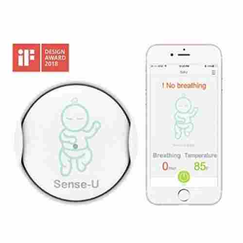 Sense-U Baby Breathing & Rollover Baby Breathing Monitor front