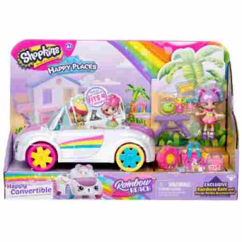 happy places rainbow beach convertible shopkins toys for kids pack