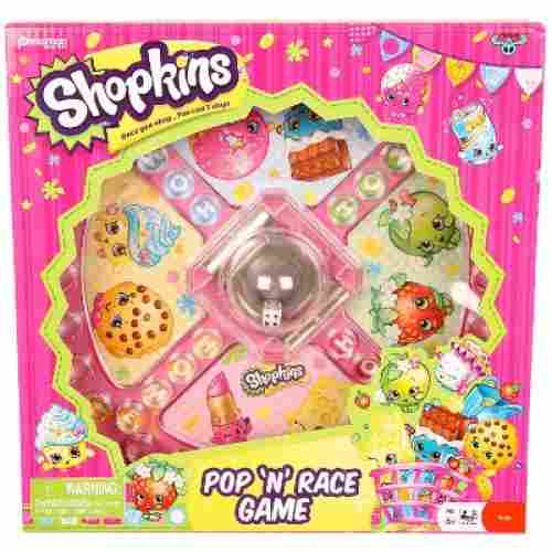 pop n race game shopking toys for kids box
