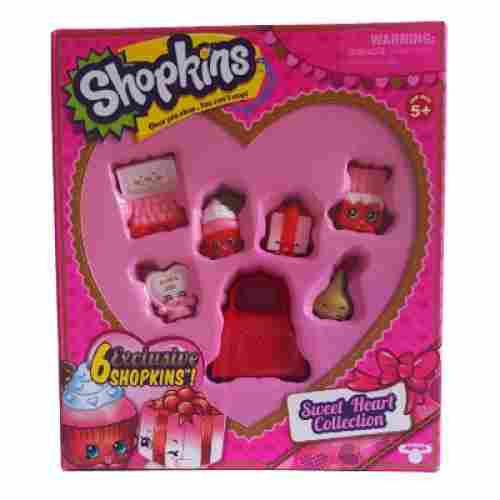 moose toys sweet heart collection shopkins toys for kids pack