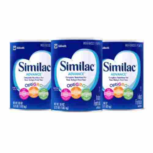 similac advance pack of 3 baby formula
