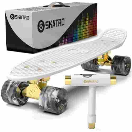 skatro mini cruiser retro kids skateboard