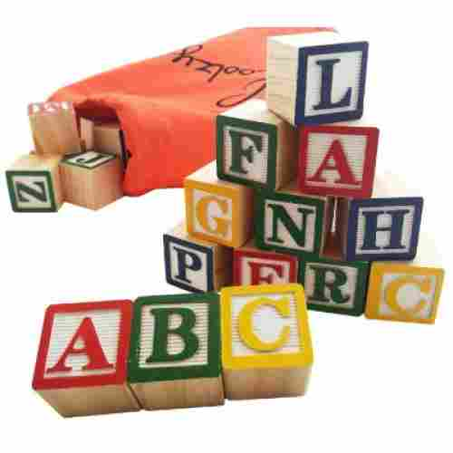 Skoolzy Alphabet Blocks
