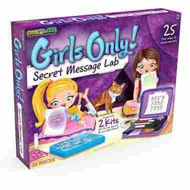 Girls Only! Secret Message Lab by SmartLab Toys