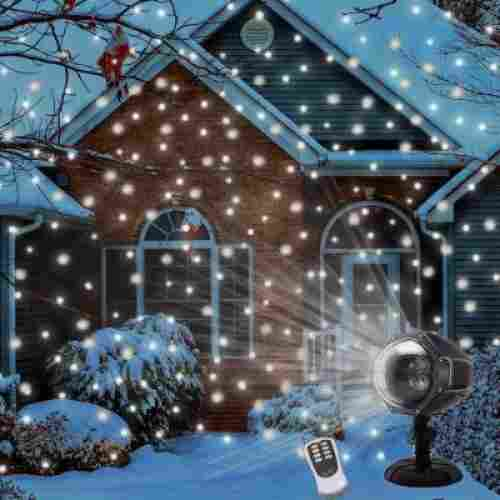 Snowfall projector light