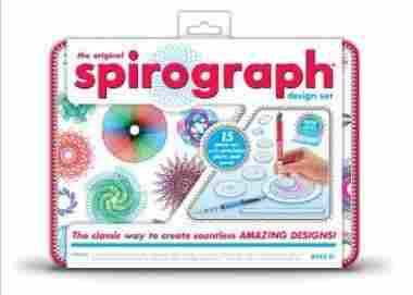Spirograph Design Tin Set by Kahootz