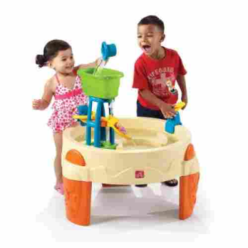 step2 big splash waterpark water & sand table for kids and toddlers