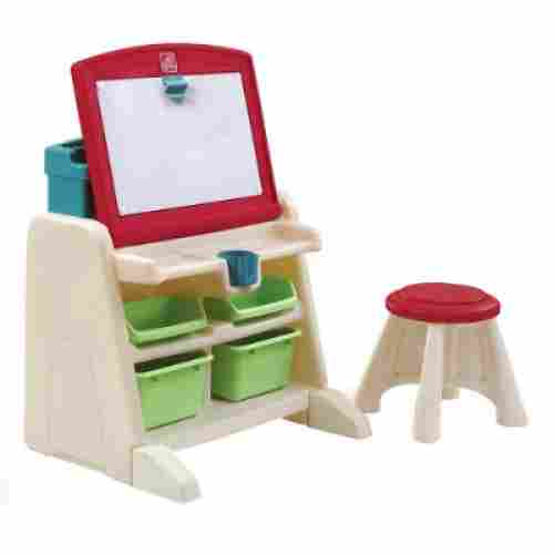 Flip and Doodle Desk with Stool