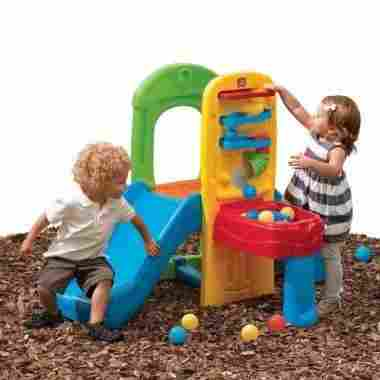 Play Ball Fun Climber With Slide for Toddlers