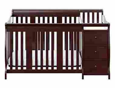 Stork Craft Portofino 4-in-1 Crib and Changer