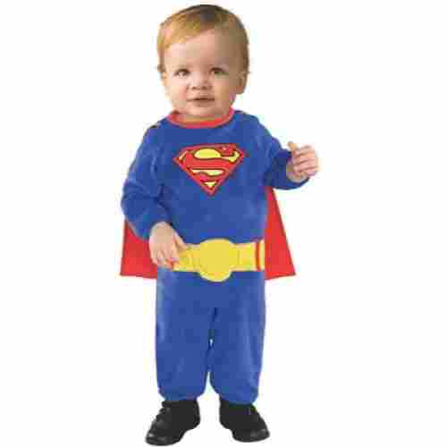 Superman Romper With Removable Cape