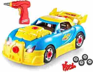 Take Apart Racing Car Toys – Build Your Own Toy Car