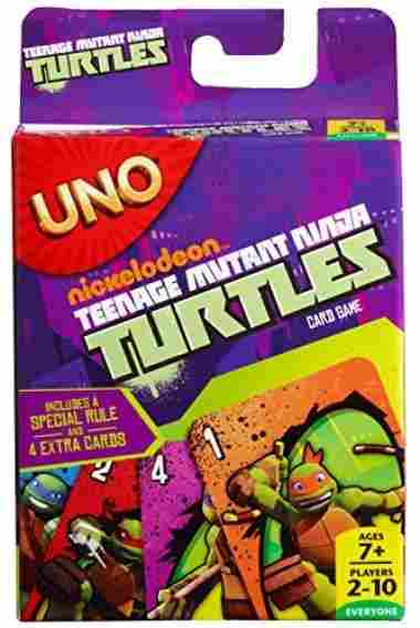 TMNT UNO Card Game