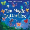 ten magic butterflies book for 5 year olds cover