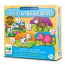 learning journey 4 in a box farm jigsaw puzzle for kids box