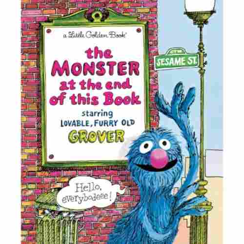 the monster at the end of this book for 3 year olds cover