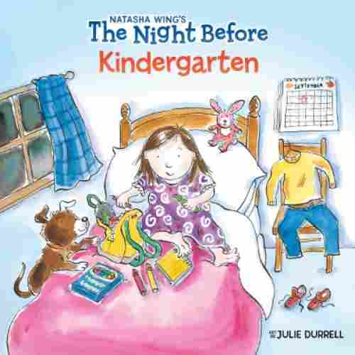 the night before kindergarten book for 5 year olds cover