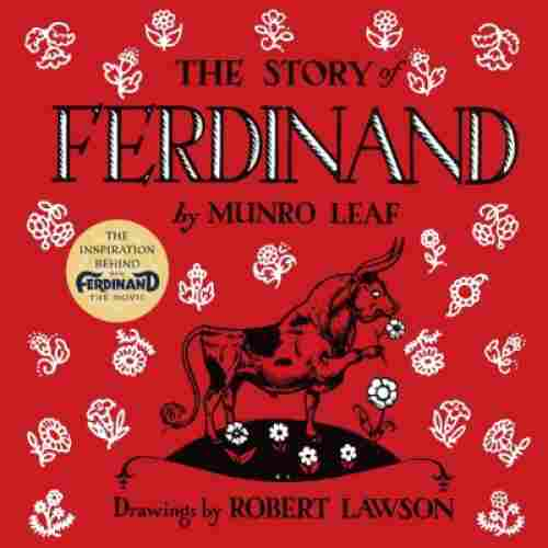 the story of ferdinand book for 3 year olds cover