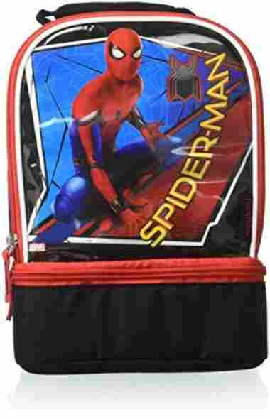 Thermos Dual Compartment Spiderman