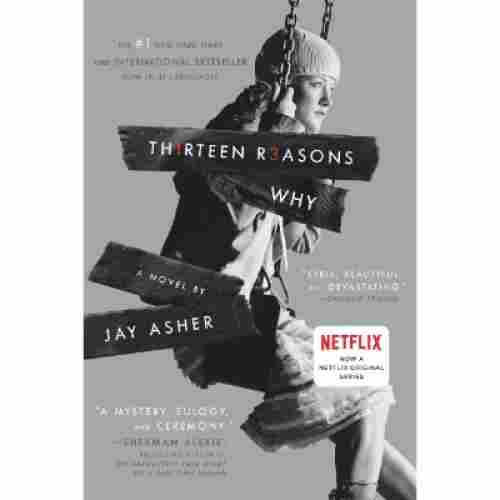thirteen reasons why book for teens cover