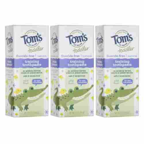 tom's of maine toddlers fluoride-free toddler toothpaste