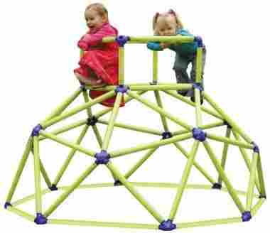 Classic jungle gym for kids.