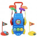 toyVelt 4 balls & 2 practice holes golf set for kids