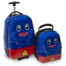 travel buddies rusty robot kids luggage set