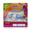 Trolls Light-up Tracing Pad