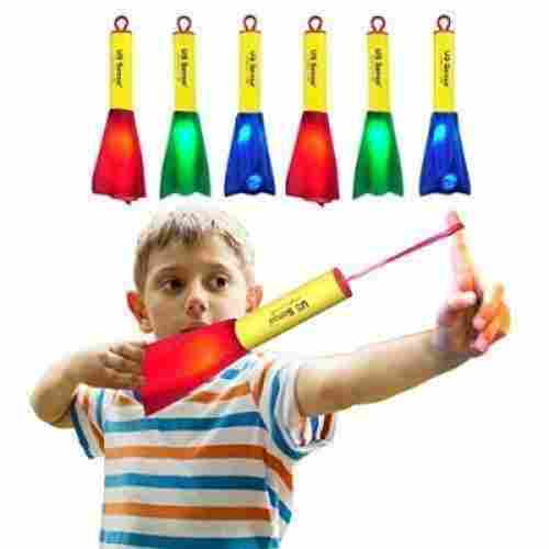 LED foam finger rockets 6 pack flying toys