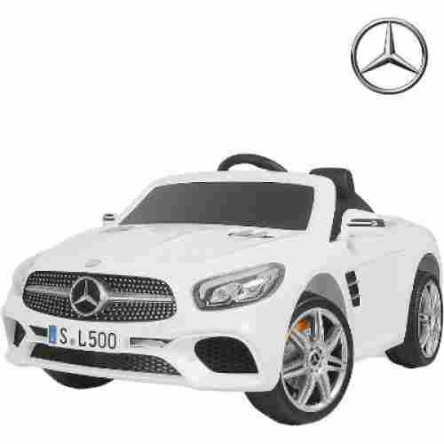 uenjoy mercedes benz electric cars for kids white