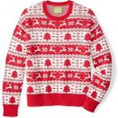 ugly fair isle unisex christmas sweater pattern