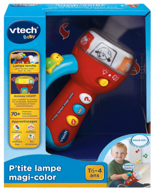 VTech Baby Spin & Learn Flashlight