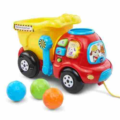 vTech drop & go dump truck pull toys for kids