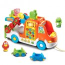 vTech pull & learn car carrier toy cars