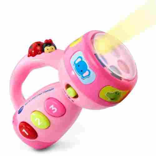 vTech spin and learn flashlight learning toys for kids and toddlers
